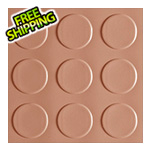G-Floor 10' x 24' Coin Roll-Out Garage Floor (Sandstone)