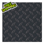 G-Floor 5' x 10' Diamond Tread Garage Floor Roll (Black)