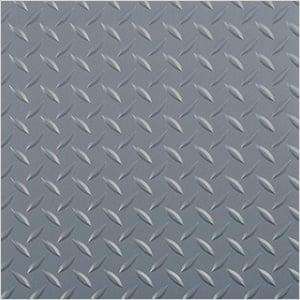 7.5' x 17' Diamond Tread Garage Floor Roll