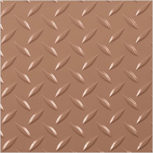 7.5' x 17' Diamond Tread Garage Floor Roll (Sandstone)