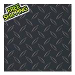 G-Floor 8.5' x 22' Diamond Tread Garage Floor Roll (Black)