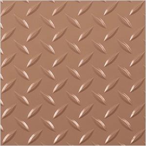 10' x 24' Diamond Tread Garage Floor Roll (Sandstone)
