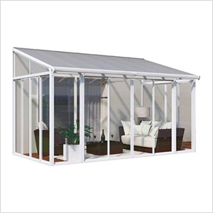 SanRemo 10' x 14' Patio Enclosure (White)