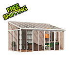 Palram SanRemo 10' x 18' Patio Enclosure (White)