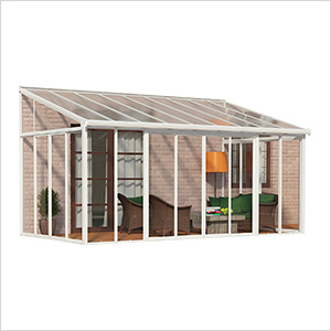 SanRemo 10' x 18' Patio Enclosure (White)