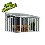 Palram SanRemo 13' x 14' Patio Enclosure (White)