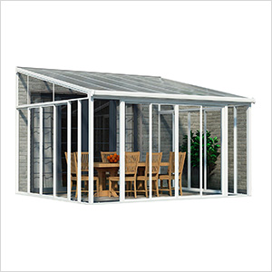 SanRemo 13' x 14' Patio Enclosure (White)