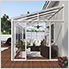 SanRemo 10' x 18' Patio Enclosure with Screen Doors (White)