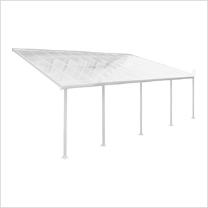 Feria 13' x 28' Patio Cover (White)