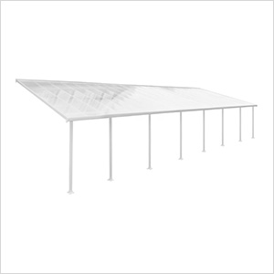 Feria 13' x 40' Patio Cover (White)