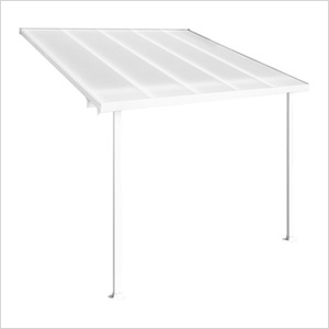 Feria 10' x 10' Patio Cover (White)