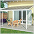 Feria 10' x 20' Patio Cover (White)