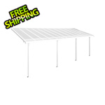 Palram Feria 10' x 24' Patio Cover (White)