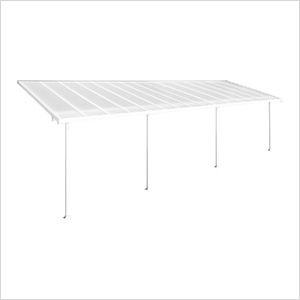 Feria 10' x 30' Patio Cover (White)