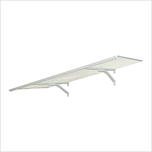Columba 1500 Awning (White / Clear)