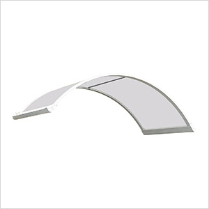 Corona 1580 Awning (White / Clear)