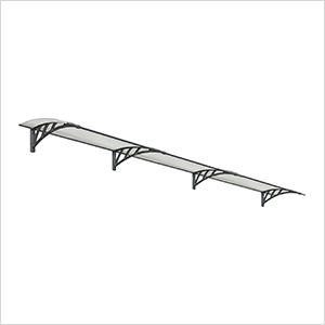Neo 4050 Awning (Grey / Clear)