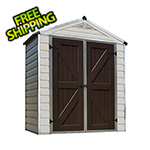 Palram SkyLight 6' x 3' Storage Shed (Tan)