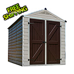Palram SkyLight 6' x 8' Storage Shed (Tan)