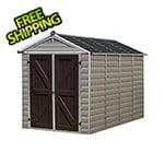 Palram-Canopia SkyLight 6' x 10' Storage Shed (Tan)