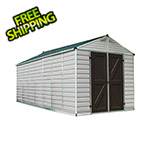 Palram SkyLight 8' x 16' Storage Shed (Tan)