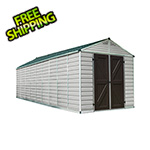 Palram SkyLight 8' x 20' Storage Shed (Tan)