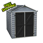 Palram SkyLight 6' x 8' Storage Shed (Grey)