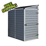 Palram SkyLight 4' x 6' Lean-To Storage Shed (Grey)
