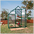 Mythos 6' x 4' Hobby Greenhouse (Green)