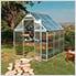 Mythos 6' x 6' Hobby Greenhouse (Silver)