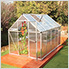 Mythos 6' x 10' Hobby Greenhouse (Silver)