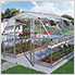 Americana 12' x 12' Hybrid Greenhouse Kit