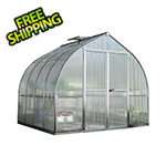 Palram Bella 8' x 8' Hobby Greenhouse Kit (Silver)