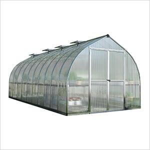 Bella 8' x 20' Hobby Greenhouse Kit (Silver)