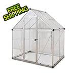 Palram Hybrid 6' x 4' Greenhouse (Silver)