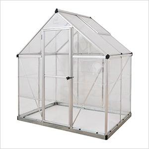 Hybrid 6' x 4' Greenhouse (Silver)