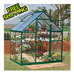 Palram Hybrid 6' x 4' Greenhouse (Green)