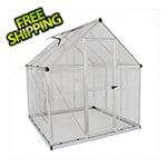 Palram Hybrid 6' x 8' Greenhouse (Silver)