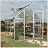 Hybrid 6' x 8' Greenhouse (Silver)