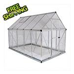 Palram Hybrid 6' x 10' Greenhouse (Silver)