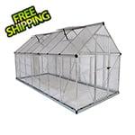 Palram Hybrid 6' x 14' Greenhouse (Silver)