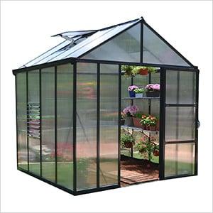 Glory 8' x 8' Greenhouse Kit (Grey)