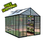Palram Glory 8' x 12' Greenhouse Kit (Grey)