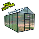 Palram Glory 8' x 16' Greenhouse Kit (Grey)