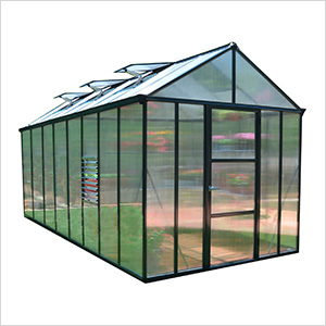 Glory 8' x 16' Greenhouse Kit (Grey)