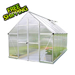 Palram Essence 8' x 12' Greenhouse (Silver)