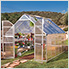 Essence 8' x 12' Greenhouse (Silver)