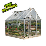 Palram Snap & Grow 6' x 8' Hobby Greenhouse