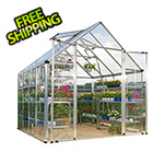 Palram Snap & Grow 8' x 8' Hobby Greenhouse