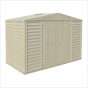 Woodbridge 10.5' x 5' Vinyl Storage Shed with Foundation
